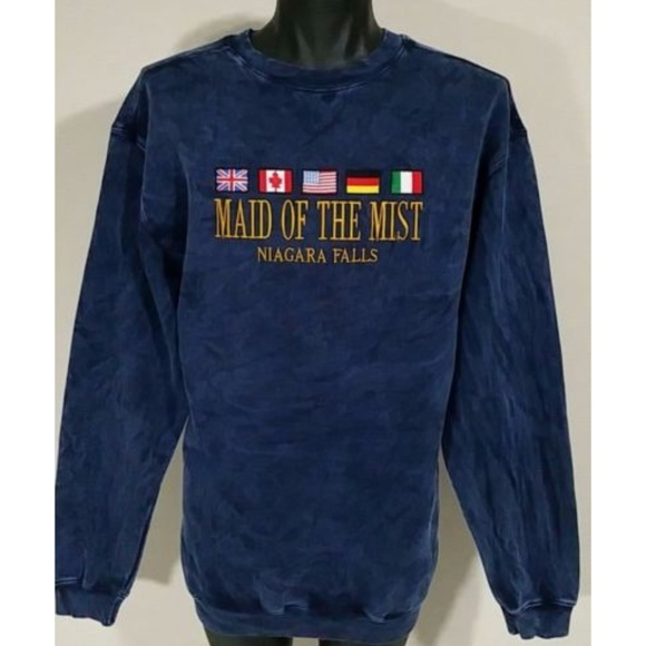 3e593db17 NWT 90s Niagara Falls Maid Of The Mist Sweatshirt